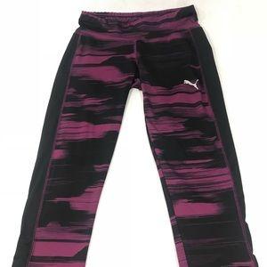 Puma women's purple leggings women's XL